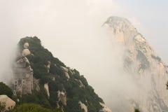 Montagne de Huashan en Chine Photos libres de droits