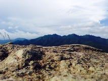 Montagne de Javanese Images libres de droits