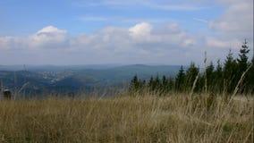 Montagne de Jizerske, République Tchèque banque de vidéos