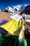 Montagne de Kangchenjunga, Népal Photos libres de droits
