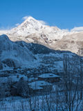 Montagne de Kazbek Photo stock