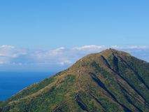 Montagne de Keelung, Keelung, Taïwan Photographie stock libre de droits