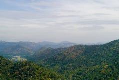 Montagne de Khao Yai Photos libres de droits