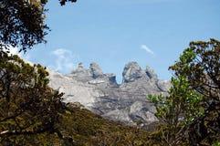 Montagne de Kinabalu Image libre de droits