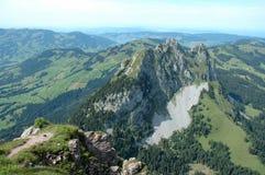 Montagne de Kleiner Mythen Photos stock