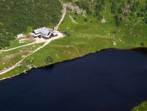 montagne de krkonose de maison Images libres de droits