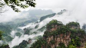 Montagne de la Chine chez Zhang Jie Jia photos libres de droits