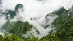 Montagne de la Chine chez Zhang Jie Jia image stock