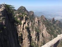 Montagne de la Chine Huangshan photographie stock