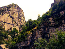montagne de la France Image stock