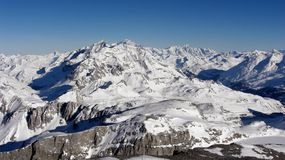 montagne de la France Image stock