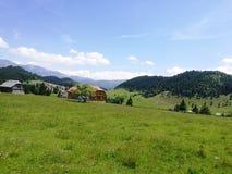 Montagne de la Roumanie Images libres de droits