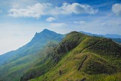 Montagne de la Thaïlande Photographie stock libre de droits