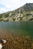 montagne de lac Photographie stock libre de droits