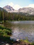 montagne de lac de l'Idaho Images libres de droits