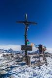 Montagne de Lagazuoi Image libre de droits