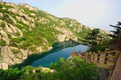 Montagne de Laoshan Images stock