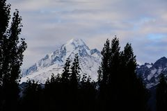 Montagne de Leh Photos libres de droits