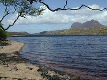 Montagne de lochside Photo libre de droits