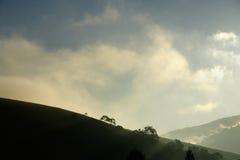 Montagne de matin Images libres de droits