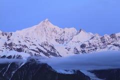 Montagne de Meili dans le shangrila image libre de droits