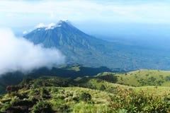 Montagne de Merapi Images libres de droits