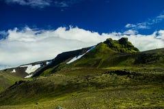 Montagne de Midfell en parc national de Snaefellsjokull Images stock