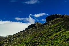 Montagne de Midfell en parc national de Snaefellsjokull Photographie stock