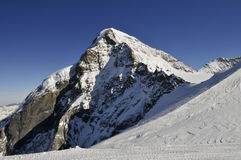 Montagne de Monch Photos libres de droits