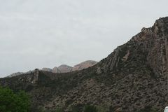 Montagne de Montseny, Lerida photos libres de droits