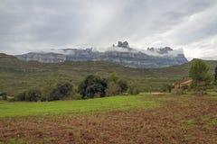 Montagne de Montserrat image stock