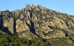 Montagne de Montserrat Photographie stock libre de droits