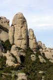Montagne de Montserrat Photos stock