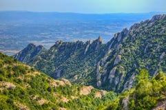 Montagne de Montserrat Images libres de droits