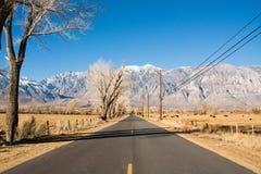 Montagne de neige photos libres de droits