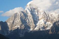 Montagne de neige Images stock
