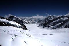 Montagne de neige Photo libre de droits