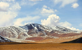 Montagne de neige au Thibet Image stock