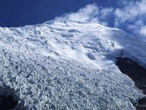 Montagne de neige au Thibet Photographie stock