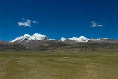 Montagne de neige dans Tiet Images libres de droits
