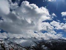 Montagne de neige de Huanlong Photos stock