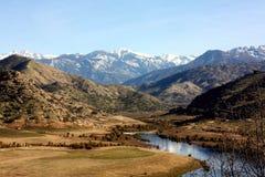 Montagne de neige en Californie Photographie stock libre de droits