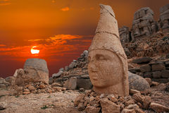 Montagne de Nemrut photos stock