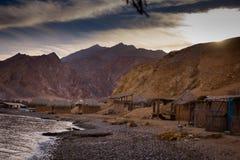 Montagne de Nuweiba photo stock