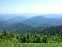 Montagne de Parashka, montagnes Carpathiens Image libre de droits