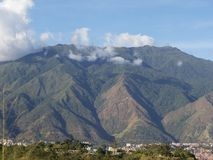 Montagne de parc national d'EL Avila Waraira Repano à Caracas Venezuela images libres de droits