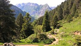 Montagne de paysage de Gavarnie photographie stock libre de droits