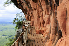 Montagne de Phutok Photos stock