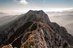 Montagne de Piatra Craiului Image libre de droits