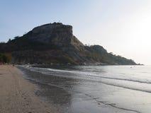 Montagne de plage Image libre de droits